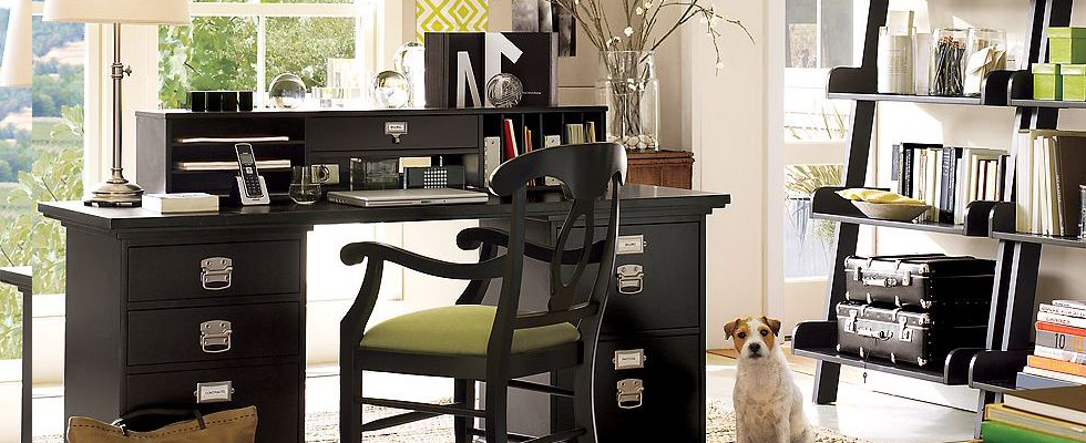 HOME OFFICE IDEAS AND COLOR SCHEMES