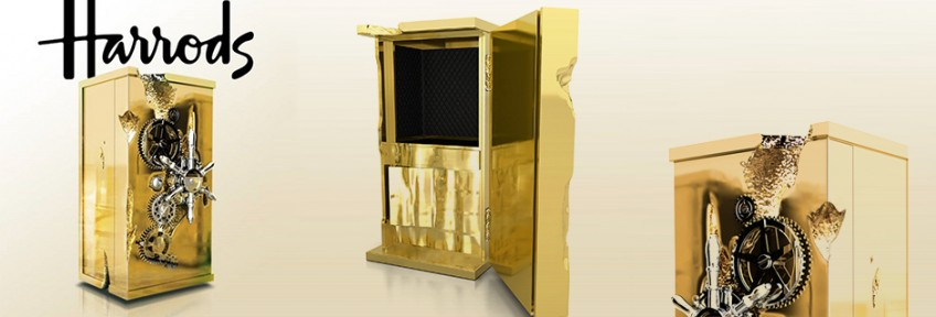 Exclusive Design at Harrods Boca do Lobo - Millionaire Safe Box Exclusive Design at Harrods: Boca do Lobo Exclusive Design at Harrods: Boca do Lobo Exclusive Design at Harrods Boca do Lobo Millionaire Safe Box 848x288