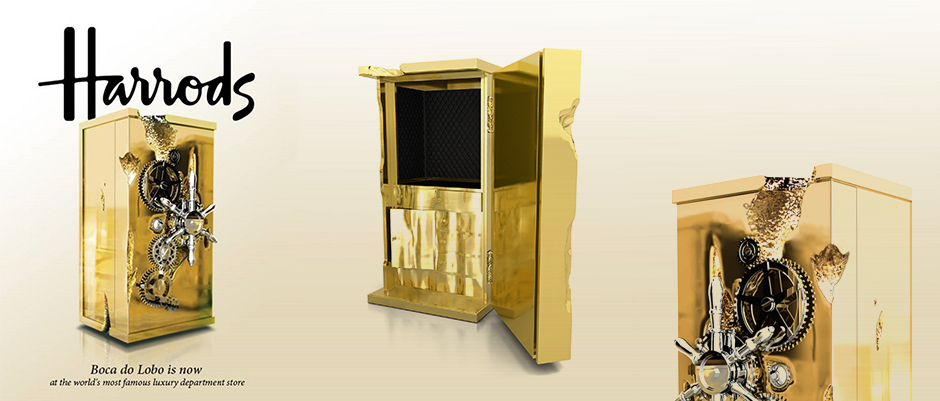 Exclusive Design at Harrods Boca do Lobo - Millionaire Safe Box