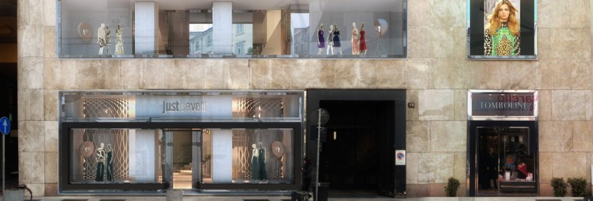 Roberto Cavalli opens the largest boutique in the world in Milan Roberto Cavalli opens the largest boutique in the world in Milan Roberto Cavalli opens the largest boutique in the world in Milan Roberto Cavalli opens the largest boutique in the world in Milan 8 848x288