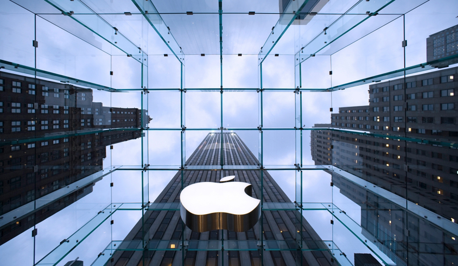 """Apple's 5th Avenue store, designed by Bohlin Cywinski Jackson, the retailer's architect firm of choice."""