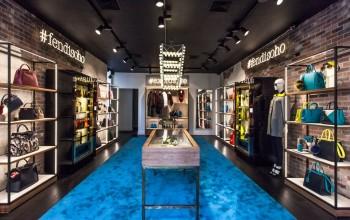 New Soho Pop-Up store by Fendi in New York