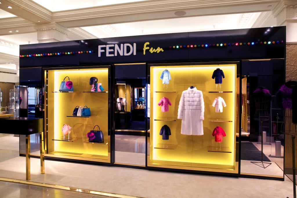 Playful Arcade Theme featured by Fendi at Harrods