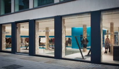 Issey Miyake's New London Flagship Store Issey Miyake's New London Flagship Store Issey Miyake's New London Flagship Store Issey Miyakes New London Flagship Store 07 409x238