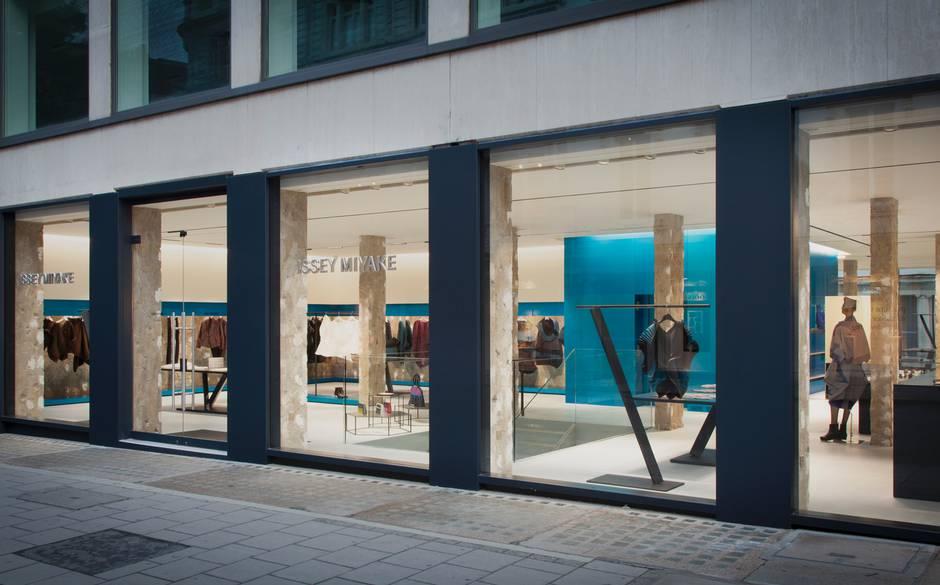 Issey Miyake's New London Flagship Store