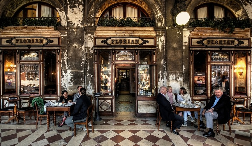 The Most Beautiful Coffee Shops In The World - Part I - Cafe Florian | Italy – Venice the most beautiful coffee shops in the world The Most Beautiful Coffee Shops In The World – Part I caff   letterari