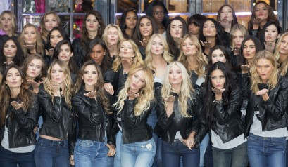 Victoria's Secret New Bond Street Store | Yesterday morning, after an overnight flight, the most beautiful women in the world have gone to meet their fans in the shop of the brand on Bond Street in the heart of London.