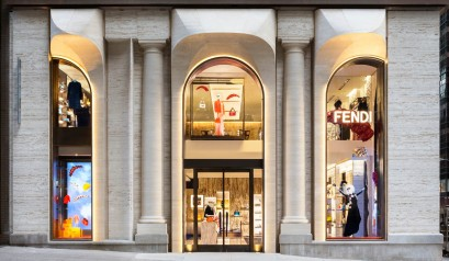 New Fendi Flagship Store In New York By Peter Marino New Fendi Flagship  Store In New
