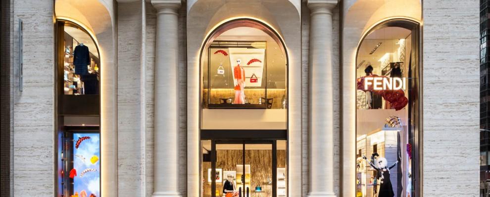 New Fendi Flagship Store in New York by Peter Marino