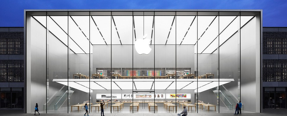"""Massive New Apple Store in China – The """"Making of"""""""