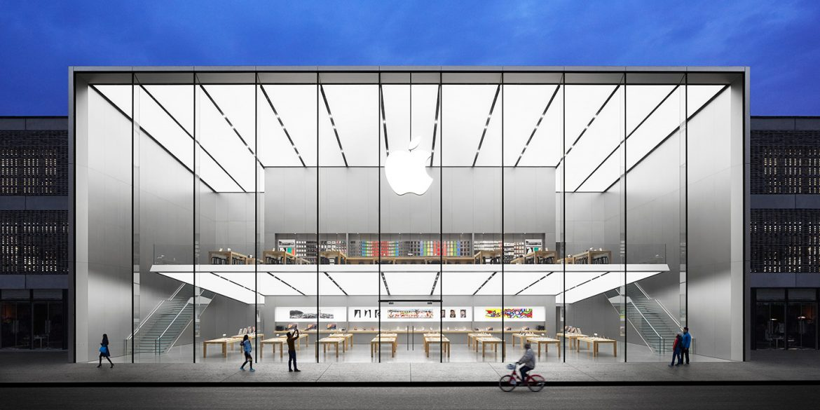 """Massive New Apple Store in China - The """"Making of"""""""