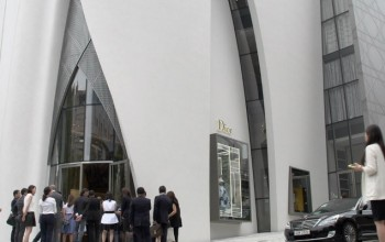 Luxury Brand Dior open a Flagship Store by Peter Marino in South Korea
