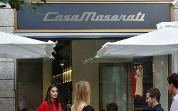 Maserati opens Retail Store/Lounge Bar in the heart of Milan
