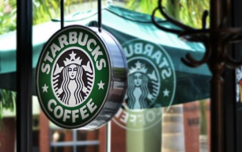 New Starbucks coffee shop in South Africa