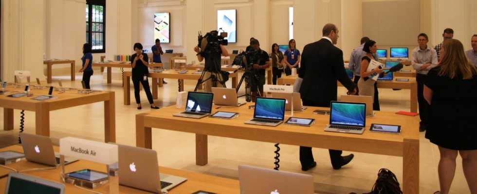 Upcoming: Apple Store in Westfield Miranda