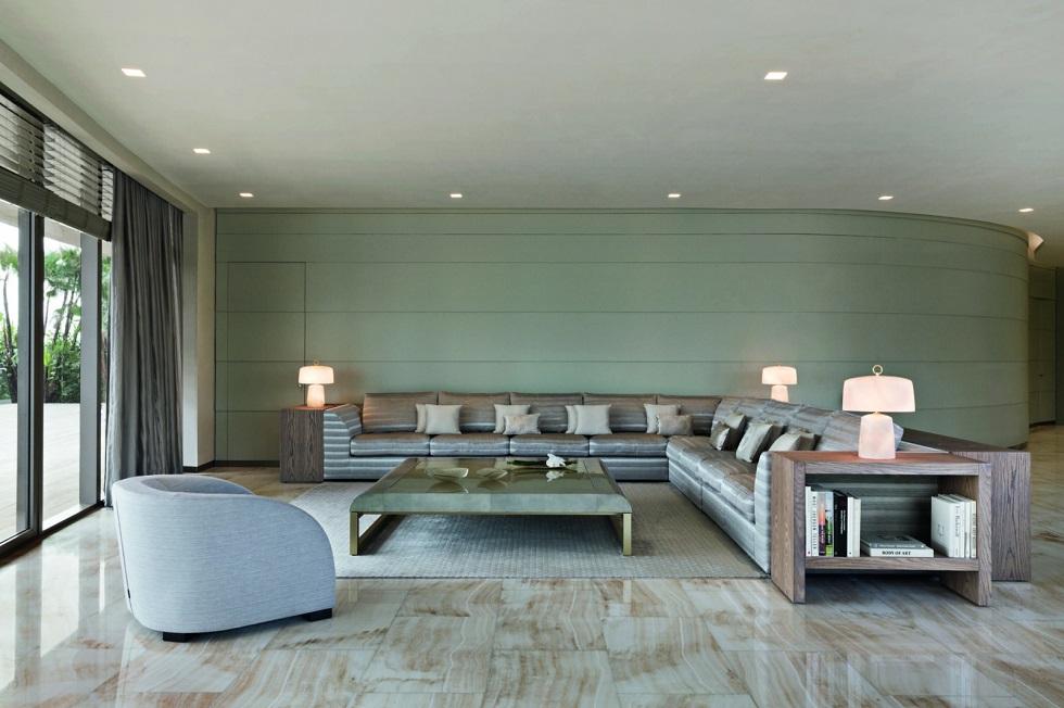 Interior Design Shops: Armani Casa Has a New House Designed by Cesar Pelli armani casa Armani Casa Has a New House Designed by Cesar Pelli 5 8