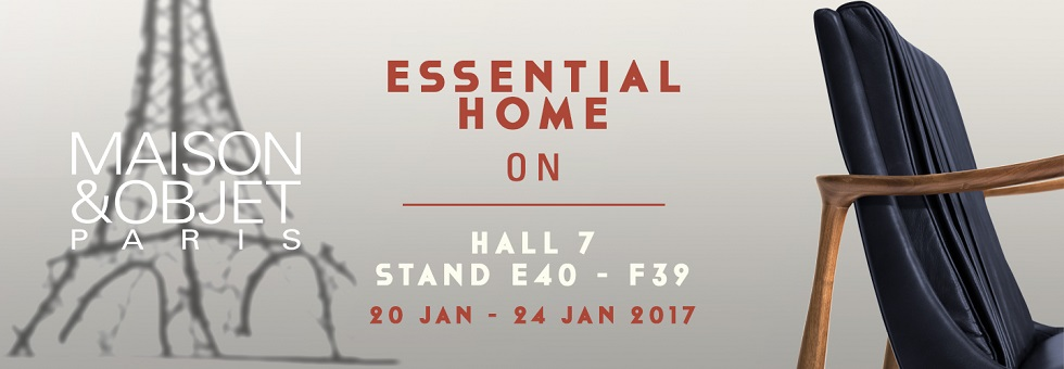 Maison et Objet 2017: Meet the Mid-Century Style of Essential Home
