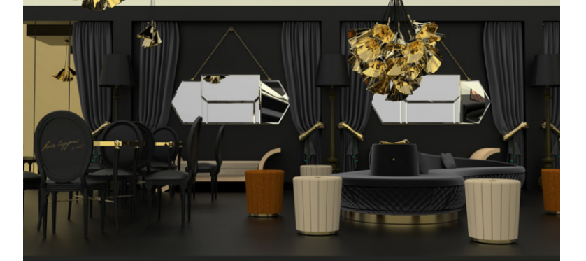 Discover Vintage Glamour By Koket For AD Design Show 2017 ➤To see more interior design ideas and the best shops visit us at http://interiordesignshop.net #interiordesign #shopping #interiordecor @interiordesignshop