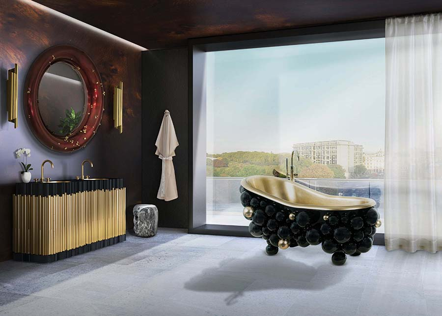 Shopping Guide: Exquisite Bathtubs For Luxury Bathrooms ➤To see more interior design ideas and the best shops visit us at http://interiordesignshop.net #interiordesign #shopping #interiordecor @interiordesignshop shopping guide Shopping Guide: Exquisite Bathtubs For Luxury Bathrooms Unique Collection of Stunning Bathtubs For Luxury Bathrooms 4