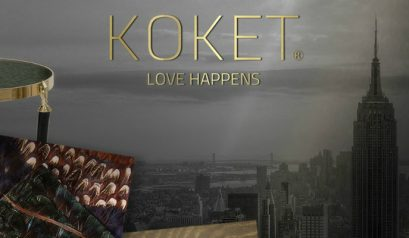 Discover Vintage Glamour By Koket For AD Design Show 2017