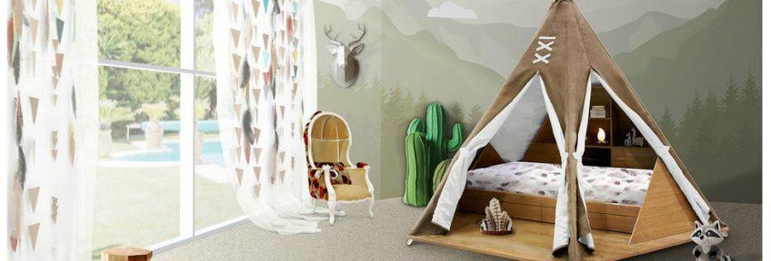 Kids Bedroom Ideas: Meet Original Teepee Room By Circu ➤To see more interior design ideas and the best shops visit us at http://interiordesignshop.net #interiordesign #salonedelmobile #isaloni @interiordesignshop