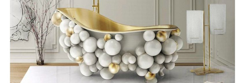 Shopping Guide: Exquisite Bathtubs For Luxury Bathrooms