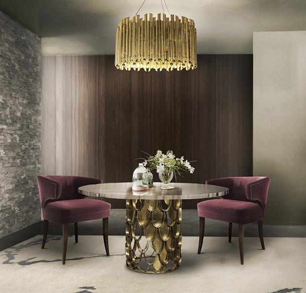 Shopping Guide: Explore A Deluxe Collection Of Unique Dining Tables ➤ To see more news about the Interior Design Shops in the world visit us at www.interiordesignshop.net/ #interiordesign #diningtable #homedecor @interiordesignshop @koket @bocadolobo @delightfulll @brabbu @essentialhomeeu @circudesign @mvalentinabath @luxxu @covethouse_ unique dining tables Make Your Dining Room Sparkle With Unique Dining Tables BB Dining Room 2