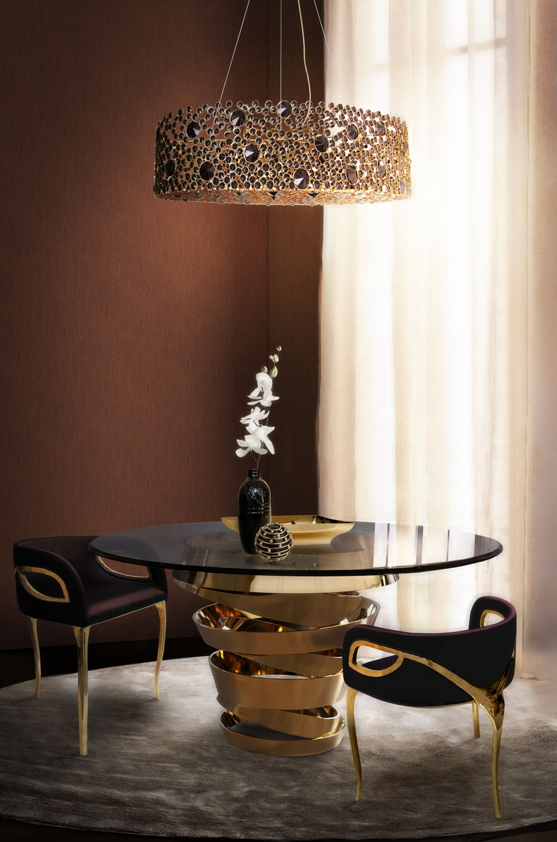 unique dining tables Make Your Dining Room Sparkle With Unique Dining Tables KK Dining Room 2