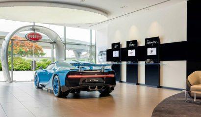 Get Inside The Largest Bugatti Showroom in Dubai ➤ To see more news about the Interior Design Shops in the world visit us at www.interiordesignshop.net/ #interiordesign #homedecor #shopping #icff @interiordesignshop @koket @bocadolobo @delightfulll @brabbu @essentialhomeeu @circudesign @mvalentinabath @luxxu @covethouse_