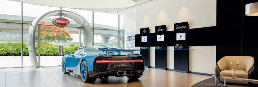 Get Inside The Largest Bugatti Showroom in Dubai ➤ To see more news about the Interior Design Shops in the world visit us at www.interiordesignshop.net/ #interiordesign #homedecor #shopping #icff @interiordesignshop @koket @bocadolobo @delightfulll @brabbu @essentialhomeeu @circudesign @mvalentinabath @luxxu @covethouse_ largest bugatti showroom in dubai Get Inside The Largest Bugatti Showroom in Dubai feat 1 848x288