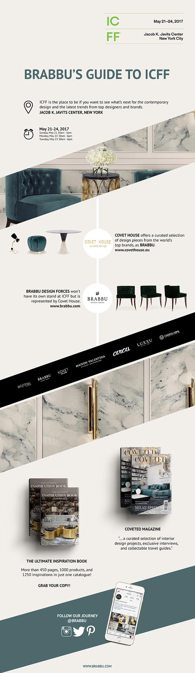 Brabbu Presents Ultimate Guide For ICFF 2017 & New York Design Week ➤ To see more news about the Interior Design Shops in the world visit us at www.interiordesignshop.net/ #interiordesign #homedecor #shopping @interiordesignshop @koket @bocadolobo @delightfulll @brabbu @essentialhomeeu @circudesign @mvalentinabath @luxxu @covethouse_ icff 2017 Brabbu Presents Ultimate Guide For ICFF 2017 & New York Design Week inspirations