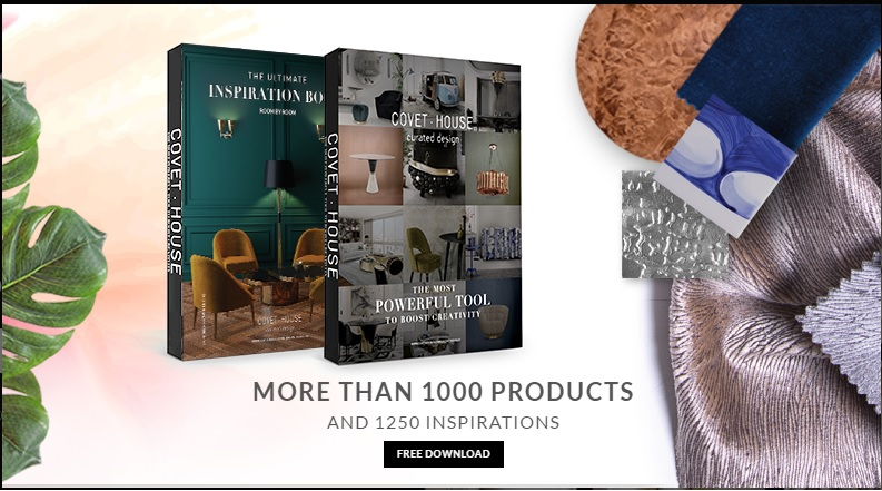 Summer Decor Trends 2017: Free eBooks And Interior Design ➤ To see more news about the Interior Design Shops in the world visit us at www.interiordesignshop.net/ #interiordesign #homedecor #interiordesignshop #shopping @interiordesignshop @bocadolobo @delightfulll @brabbu @essentialhomeeu @circudesign @mvalentinabath @luxxu @covethouse_ summer decor trends 2017 Summer Decor Trends 2017: Top 8 Interior Design Catalogues banner catalogos covethouse 1
