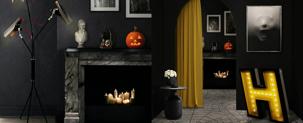 Be Inspired By Super Chic Halloween Home Decor Ideas