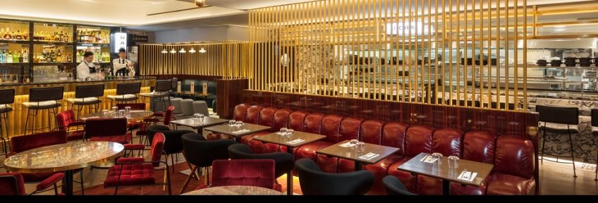 Tom Dixon Studio Designed The Wonderful Le Drugstore Brasserie, Paris ➤ To see more news about the Interior Design Shops in the world visit us at www.interiordesignshop.net/ #interiordesign #homedecor #interiordesignshop @interiordesignshop @bocadolobo @delightfulll @brabbu @essentialhomeeu @circudesign @mvalentinabath @luxxu @covethouse_