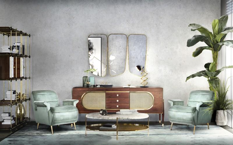 Mid-century modern ideas for a brand new living room mid-century modern Mid-century modern ideas for a brand new living room EssentialHome ambience livingroom eh 01