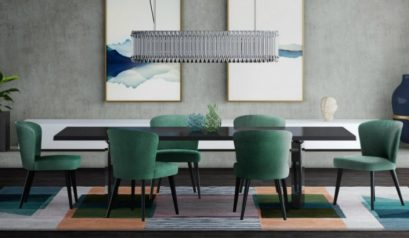 High-end dining room trends that you can't miss