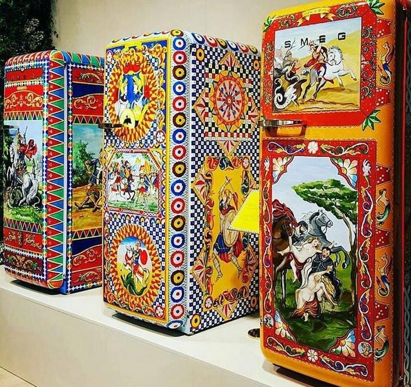 kitchen appliances Dolce & Gabbana: The New Collection of Smeg Kitchen Appliances a2c4573162b1c99f8d1bd85bd5c0ac28