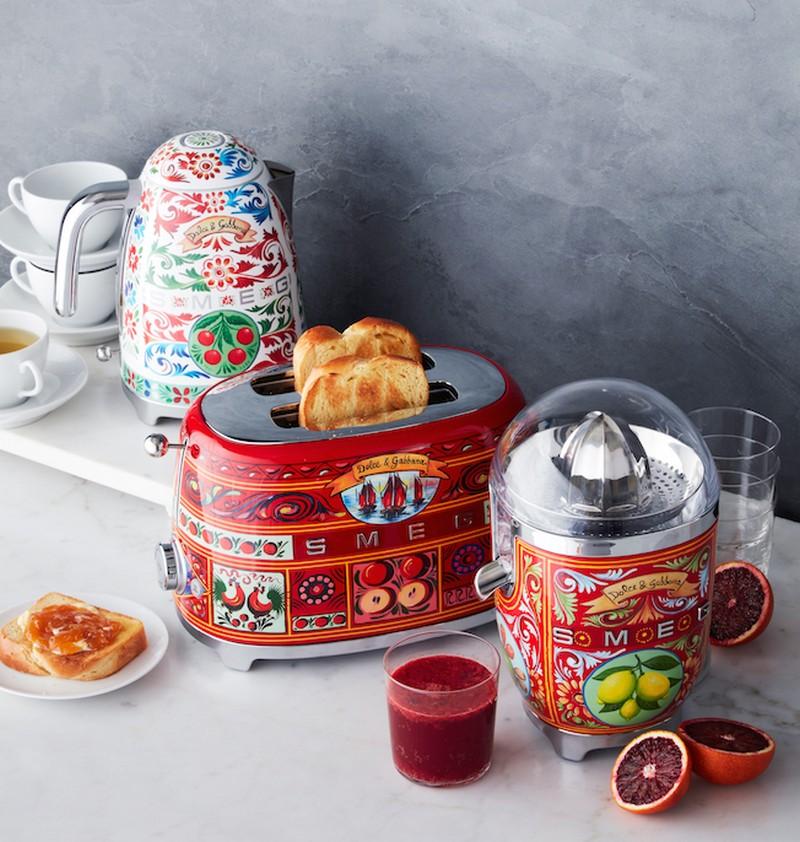 kitchen appliances Dolce & Gabbana: The New Collection of Smeg Kitchen Appliances appliances