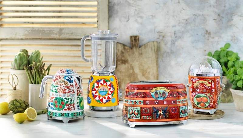 kitchen appliances Dolce & Gabbana: The New Collection of Smeg Kitchen Appliances banner 10