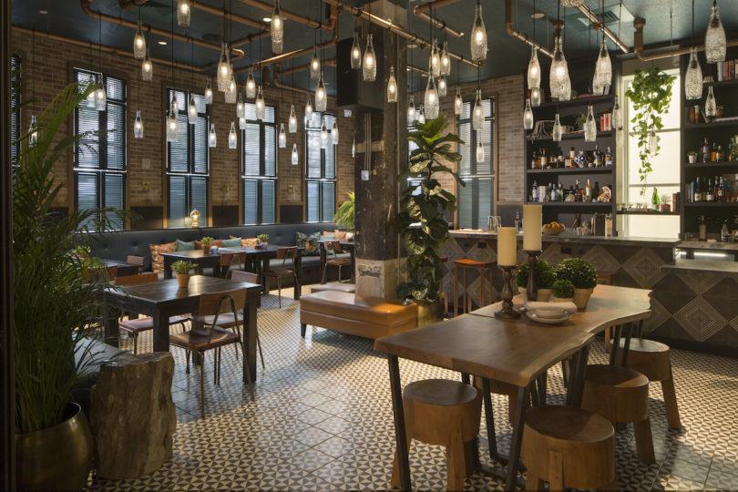 luxury design project Generator Hostels Newest USA Luxury Design Project Restaurant 01 generator miami