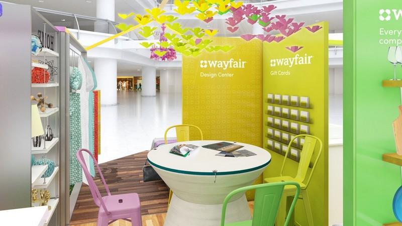 Wayfair's New Pop-Up Store Concept pop-up store Wayfair's New Pop-Up Store Concept Wayfairs New Pop Up Store Concept 2