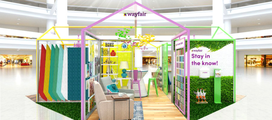 Wayfair's New Pop-Up Store Concept on pizza house design, 40s house design, traditional malay house design, electronic house design, bleach house design, goth house design, folk house design, 90s house design, 60's house design, fab house design, retro house design, east coast house design, older house design, sports house design, classic house design, chill house design, post modern house design, the best house design, bad house design, jungle house design,