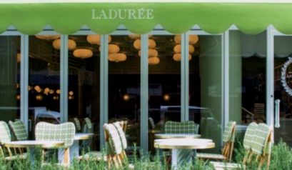 The New Interior Decoration Of Ladurée's Tokyo Salon