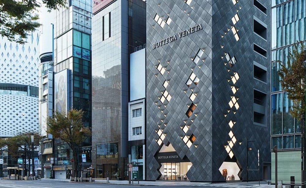 The New Bottega Veneta Flagship Store In Tokyo Bottega Veneta flagship store The New Bottega Veneta Flagship Store In Tokyo The New Bottega Veneta Flagship Store In Tokyo 2
