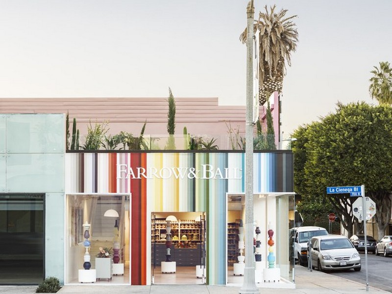 The New Farrow And Ball Showroom In LA
