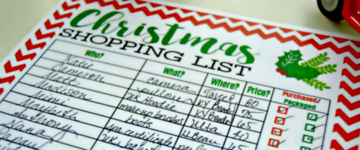 The Ultimate Shopping List For The Holiday Season