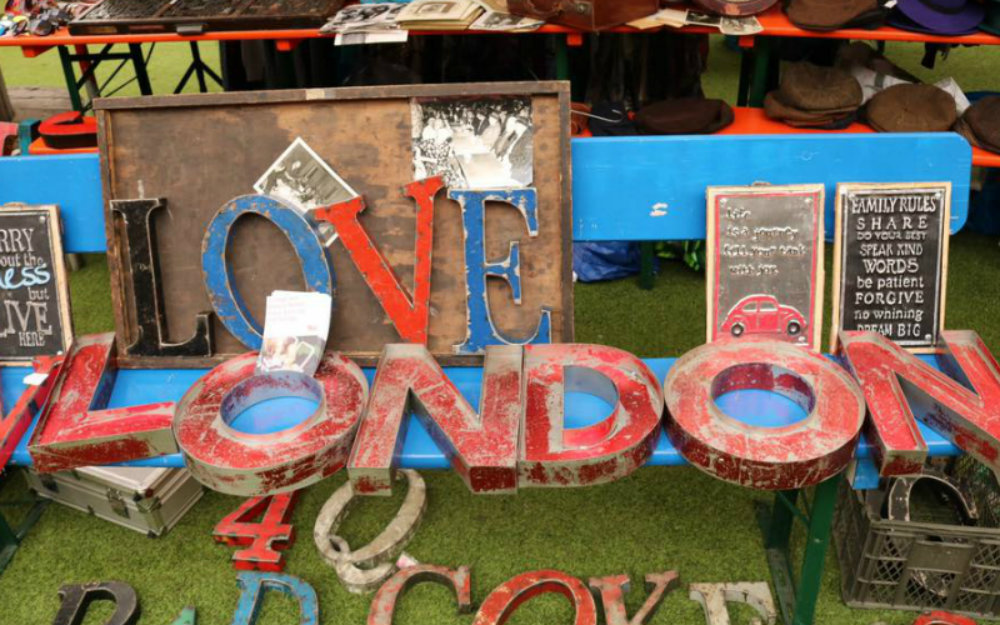There is a new London Flea market opening in March Flea market There is a new London Flea market opening in March There is a new London Flea market opening in March
