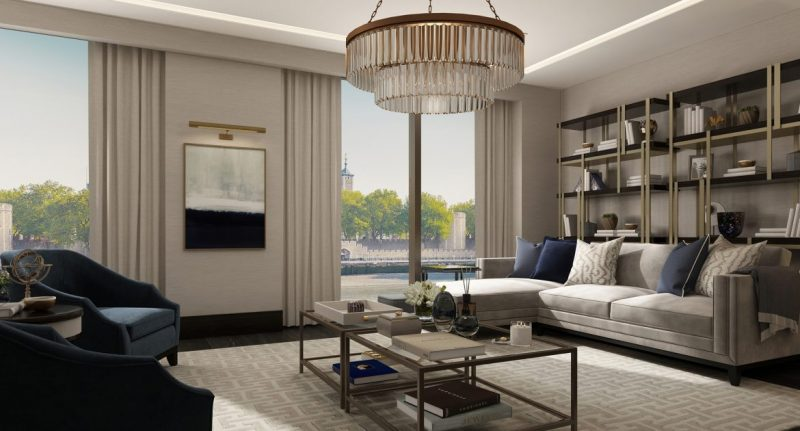 Discover The Best Luxury Match At LuxDeco luxury luxdeco Discover The Best Luxury Match At LuxDeco Living Room The Riverside Apartment2 1 e1552317462153