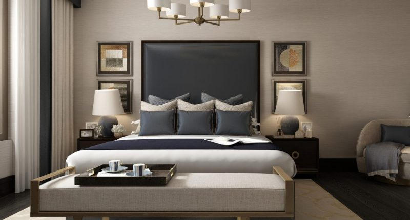 Discover The Best Luxury Match At LuxDeco luxury luxdeco Discover The Best Luxury Match At LuxDeco Master Bedroom The Riverside Apartment e1552317438728